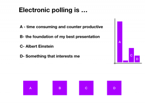 electronic polling