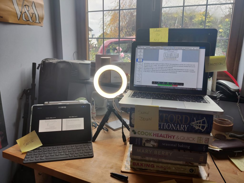 onbline presentation setup